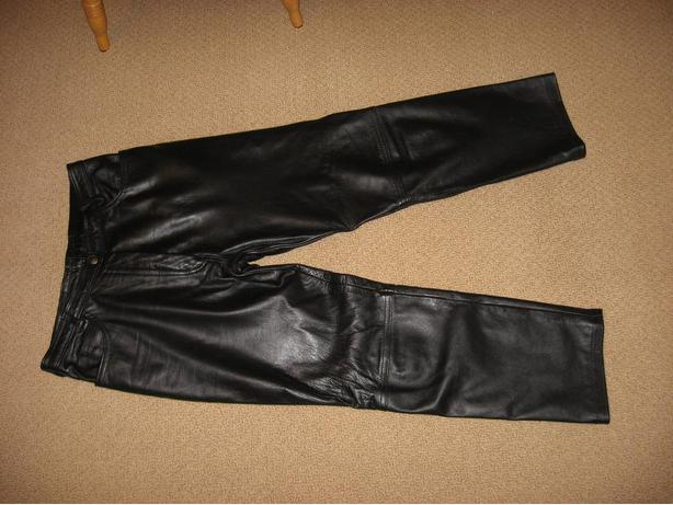 Women's Lined Leather Pants
