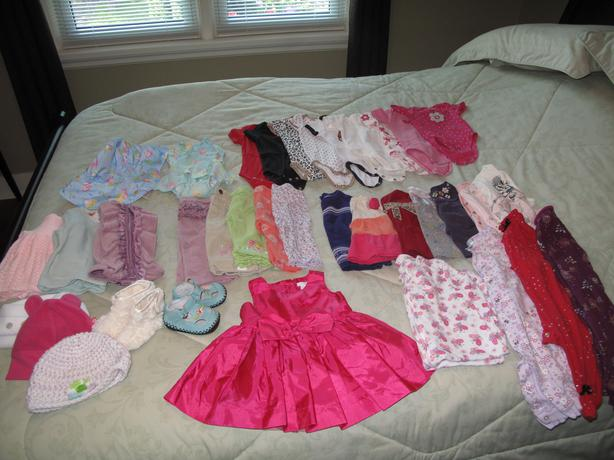3 6 Month Old Baby Girl Clothes Lot Oak Bay Victoria