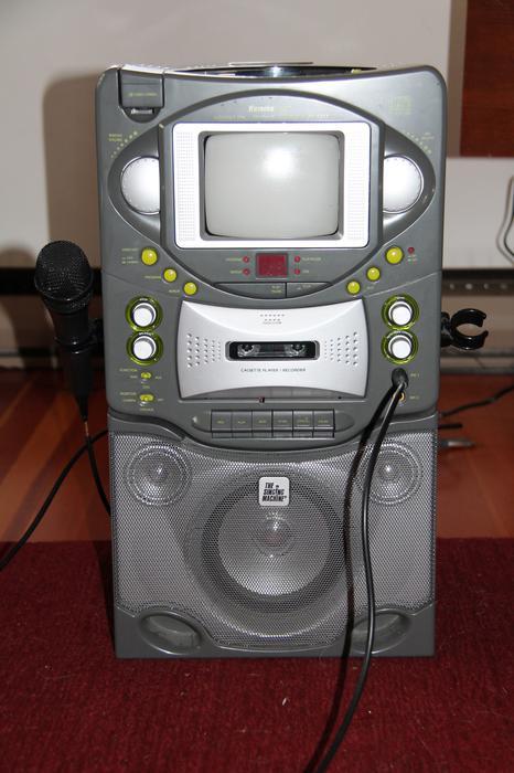 karaoke machine city