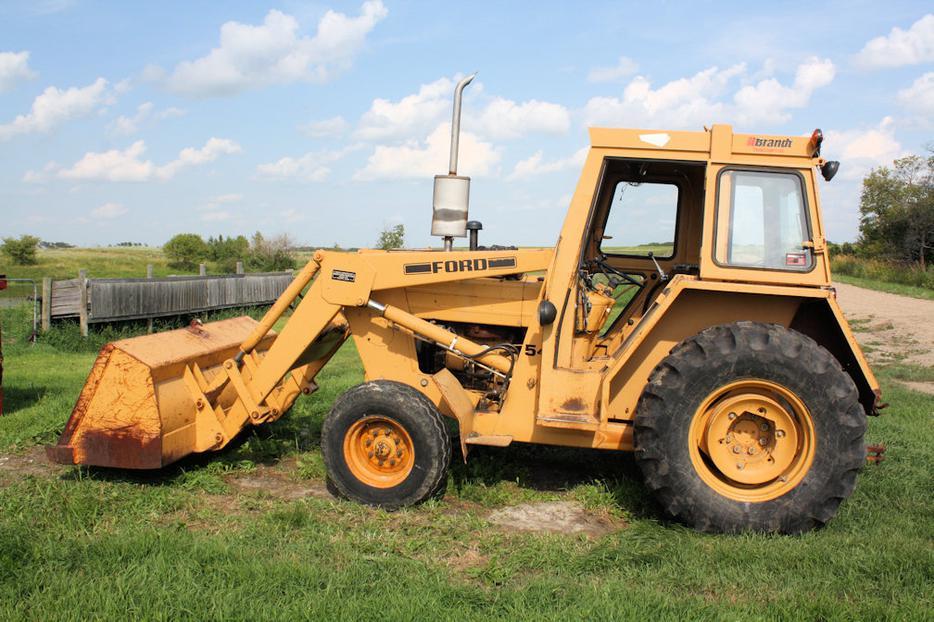 Ford 545 Industrial Tractor Rural Regina Regina