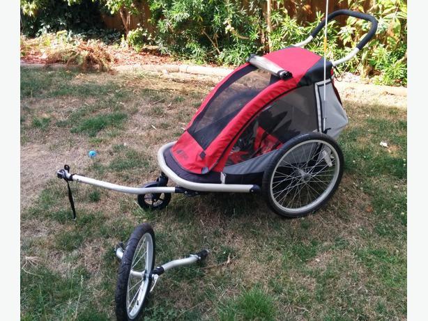2008 Mec Single Bike Trailer Jogging Stroller Victoria City