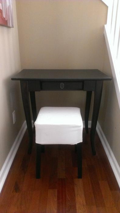 ikea leksvik desk and nils stool sooke victoria. Black Bedroom Furniture Sets. Home Design Ideas