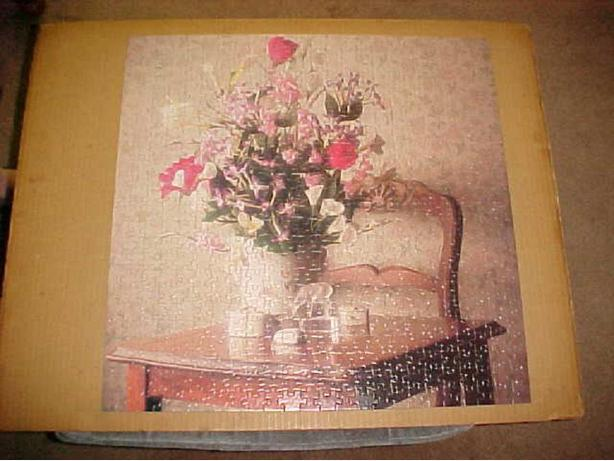 TABLE TOP STILL LIFE JIGSAW PUZZLE
