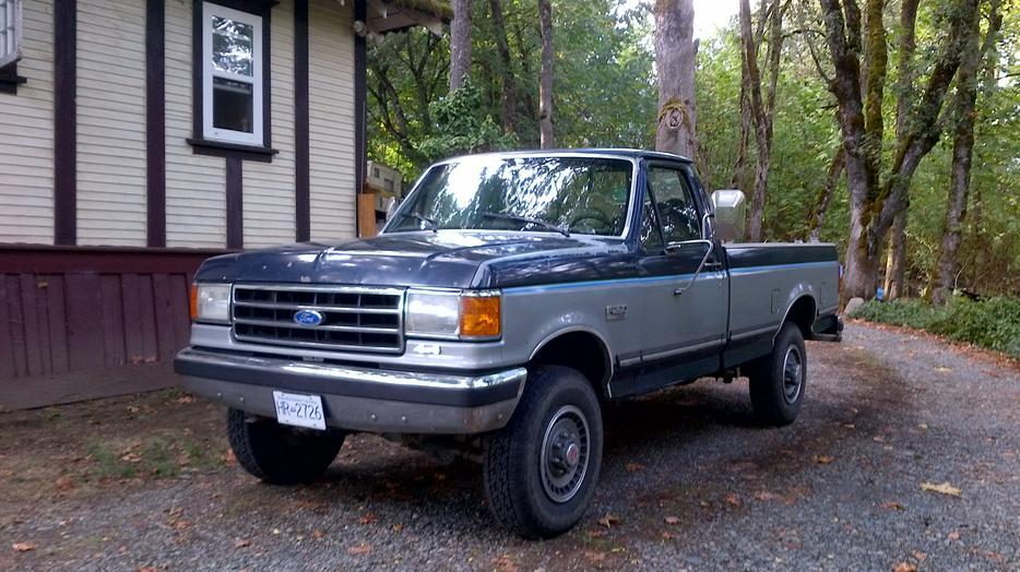 1991 Ford F250 Xlt Lariat 4x4 Outside Nanaimo Nanaimo