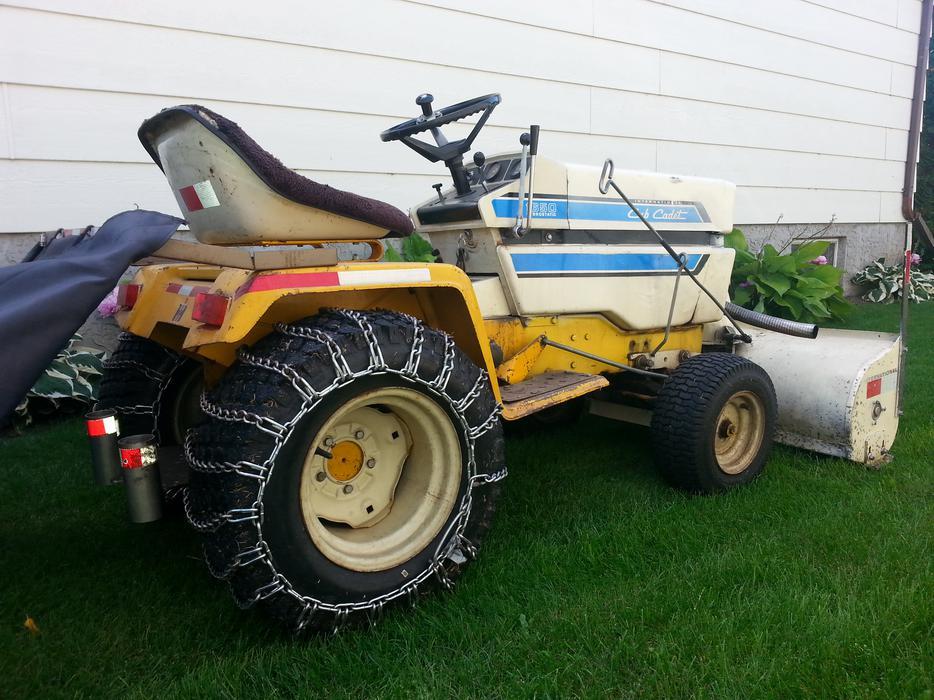 Internal Cub Cadet Lawn Mower : International cub cadet garden tractor snowblower