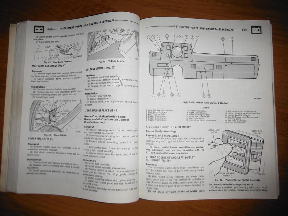 1979 Dodge Omni   U0026 Plymouth Horizon 024  U0026 Tc3 Service Manual Central Nanaimo  Parksville