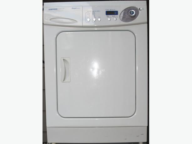 Apartment Size Washer. Product Detail Back View. White Stackable ...
