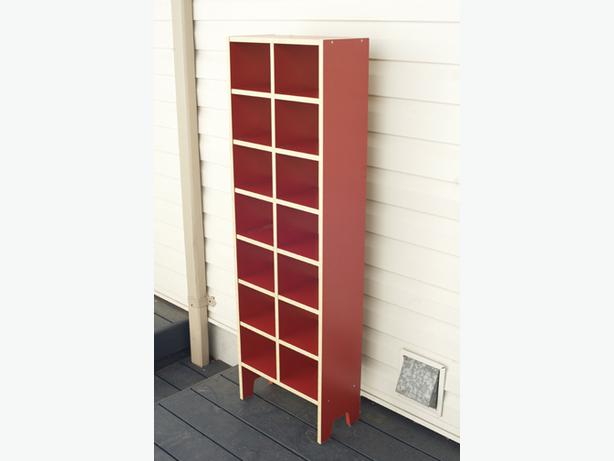 Funky Red Ikea CD Storage U0027Robinu0027