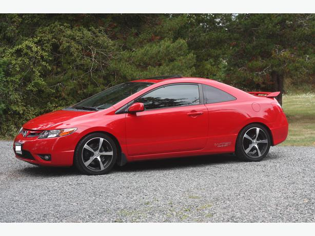 2006 honda civic si 2 door coupe parksville nanaimo. Black Bedroom Furniture Sets. Home Design Ideas