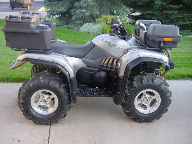 for sale 2004 660 yamaha grizzly silver tip edition east regina regina. Black Bedroom Furniture Sets. Home Design Ideas