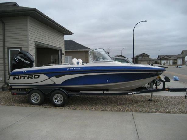 2011 nitro 290 sport fish and ski with a 200 mercury for Nitro fish and ski
