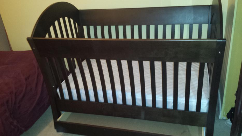 Pacific Rim Crib Convert Crib To Full Bed Conversion Kit