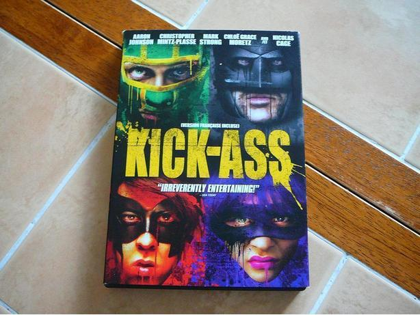 Kick-Ass DVD only watched once