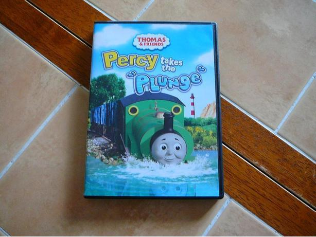 Thomas & Friends Percy takes the plunge dvd