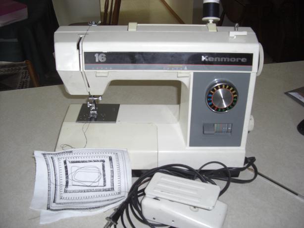 kenmore 30 sewing machine