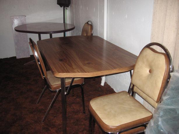 Wood kitchen table only south regina regina for Kitchen table only
