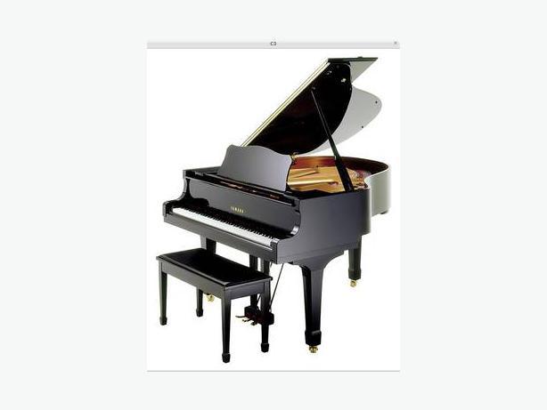 yamaha grand piano c3 - photo #38
