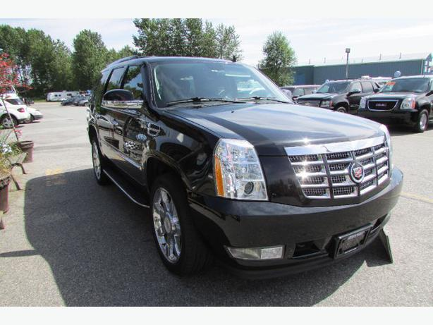 2011 cadillac escalade ask about low lease payments surrey incl white rock vancouver