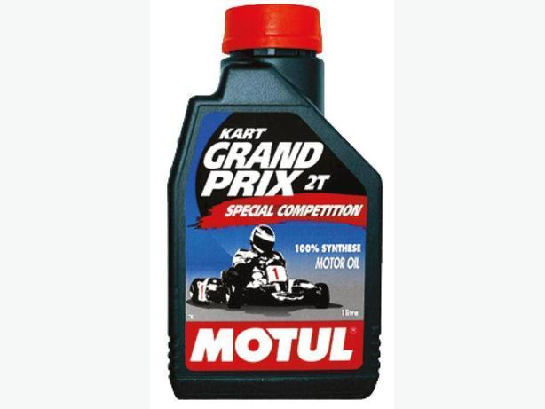 Unopened Liter of KART Grand Prix 2 Cycle Racing Oil