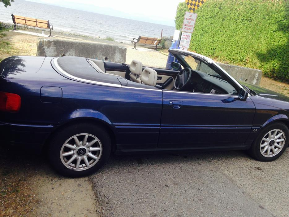 1996 Audi Cabriolet Convertible Coupe 2 Door North