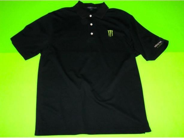 MONSTER ENERGY LIMITED EDITION TEAM USA POLO TOP SHIRT ADULT LARGE