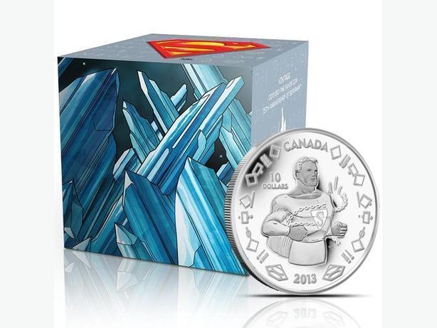 Canada 75th Anniv. Fine Silver Superman coins - Vintage