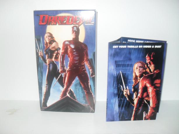 Vhs Tape Marvel Daredevil 2003 Ben Affleck Jennifer Garner Hull Sector Quebec Ottawa