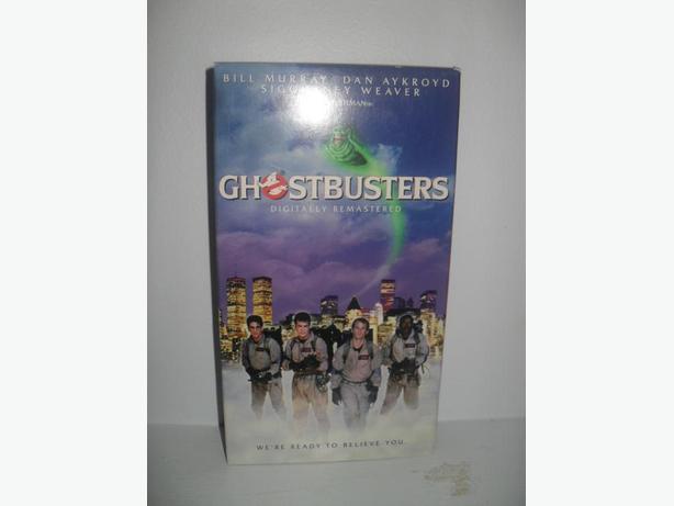 Ghosbusters staring Bill Murray, Dan Aykroyd, Sigourney Weavers
