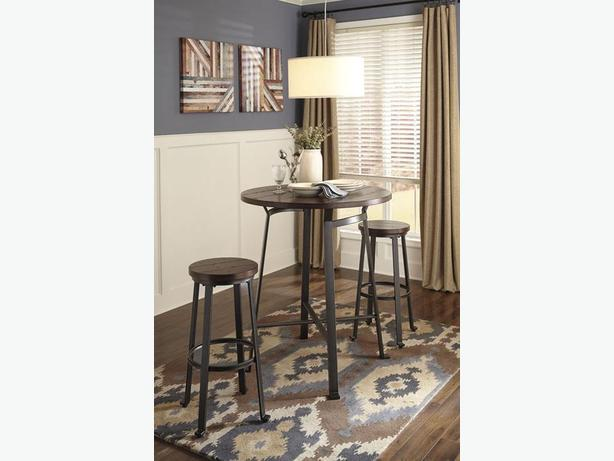 New Challiman Bar/Counter Height Dinette