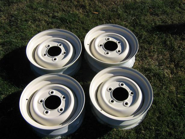 Used Tires Winnipeg >> Land Rover Defender and Series Rims 16 inch. Outside ...