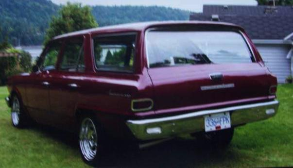 1964 amc rambler station wagon victoria city victoria. Black Bedroom Furniture Sets. Home Design Ideas