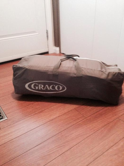 Graco Travel Lite Crib With Stages Windsor Park