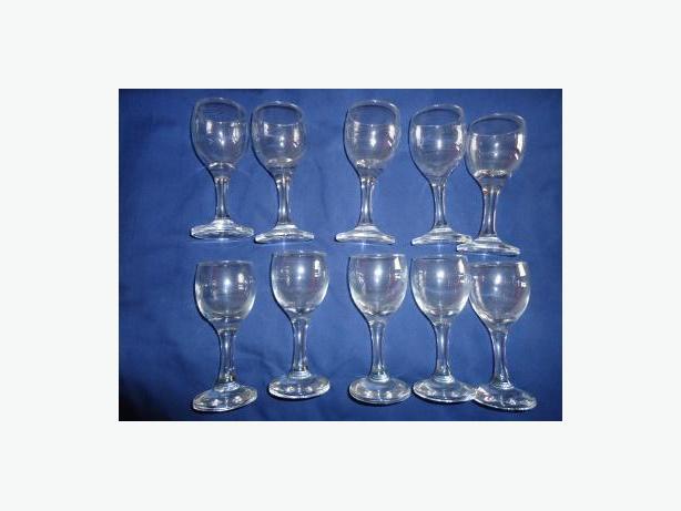 2 oz. Brandy / Sherry / Port Stemmed Glasses - Set of 10