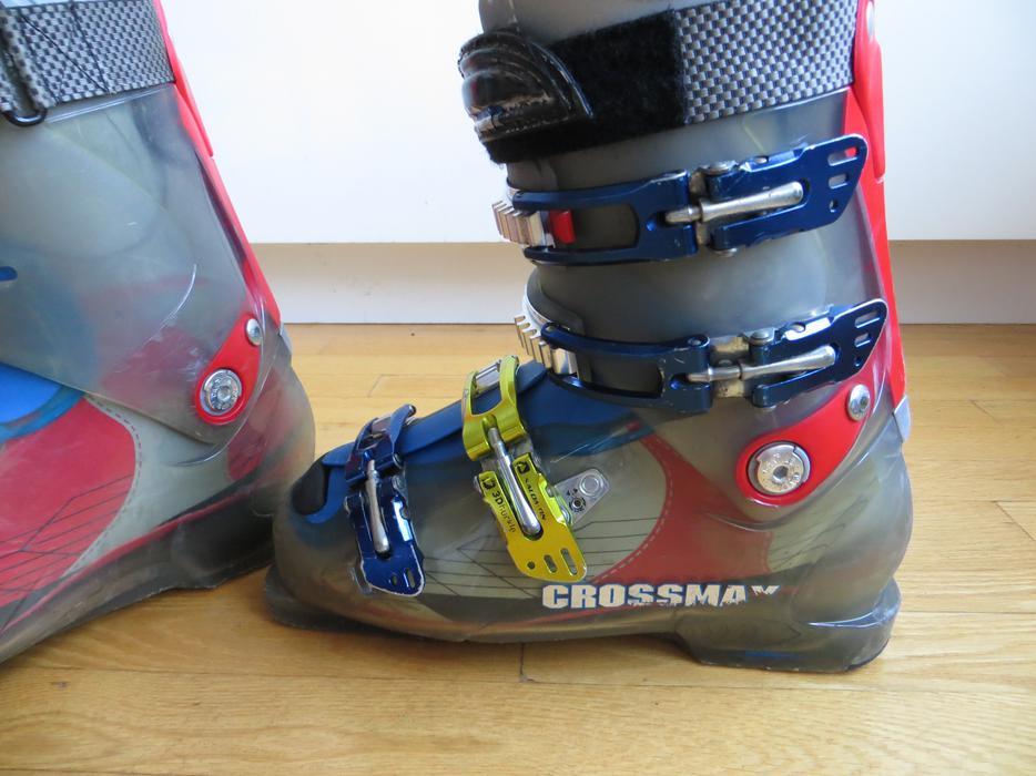 Salomon Crossmax Ski Boots Sz 27 5 Men 9 9 5 Women 10