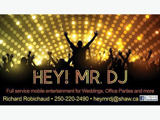 HEY MR. DJ !   AFFORDABLE DJ SERVICES  $500+