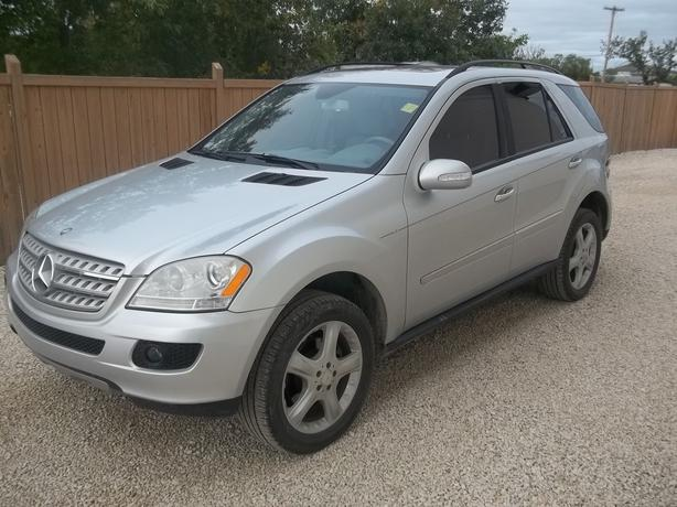 2008 mercedes benz ml350 outside winnipeg winnipeg for Mercedes benz credit score requirements