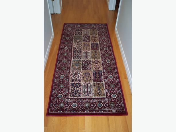 Valby Ruta Burgundy Carpet Runner Orleans Ottawa