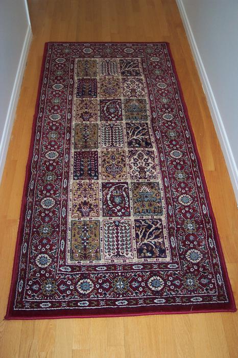 Valby Ruta Burgundy Carpet Runner Orleans Ottawa Mobile