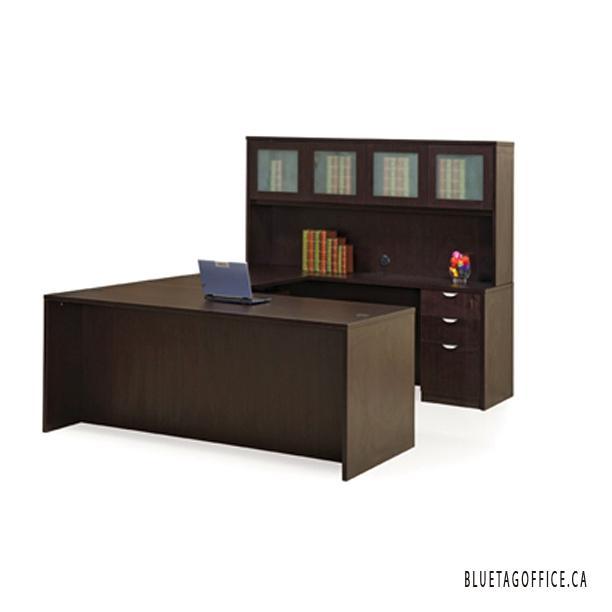 U shaped office desks on sale kelowna okanagan for Q furniture abbotsford