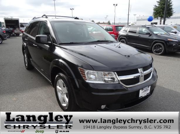 2010 dodge journey sxt w 3rd row seating sunroof langley vancouver. Black Bedroom Furniture Sets. Home Design Ideas