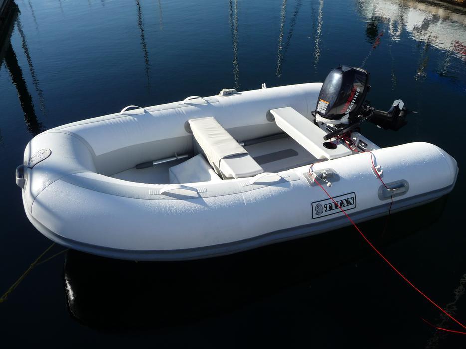 Titan 280 Dinghy Amp Nissan Outboard Central Nanaimo Nanaimo