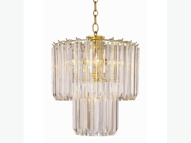 Acrylic Glass light crystals for old style chandelier ...