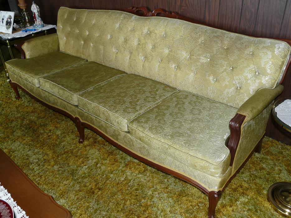 French Provincial Couch, Chair & Coffee Table Ladysmith, Cowichan