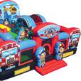 Rock Star Inflatable Combo Bouncy Castle Rental!