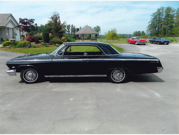 1962       Impala    SS with 4    Speed    and AC Langley  Vancouver