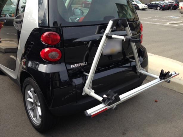 Smart Car Bicycle Rack by Thule