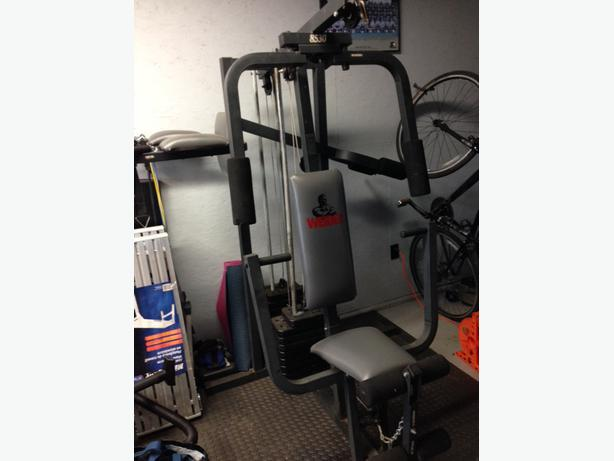 Weider home gym for sale west shore langford