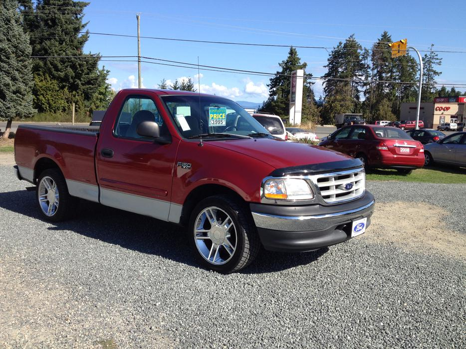 1999 Ford F 150 Xl Reg Cab Short Bed 2wd Outside Cowichan