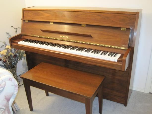 yamaha upright piano model m5j like new kamloops kamloops