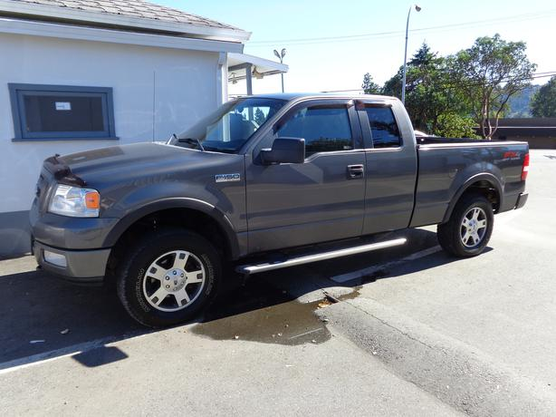 2005 ford f150 4x4 extracab fx4 off road central nanaimo nanaimo. Black Bedroom Furniture Sets. Home Design Ideas